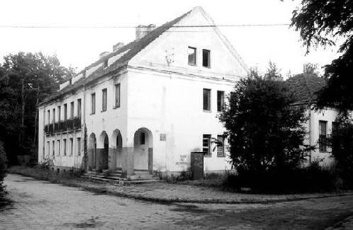 Budynek w Radiówku
