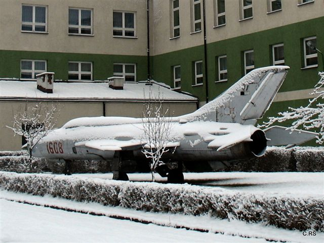 Samolot w Gliniance. 2009, foto: RS