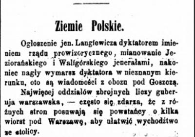 Gazeta Narodowa R.2, nr 27 (14 marca 1863)