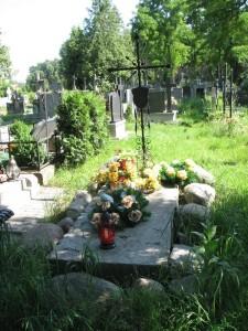Grób powstańców styczniowych na cmentarzu w Wiązownie (fot. czerwiec 2009), foto: R. Szczęsny