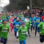Biegi młodzieżowe, w ramach XXXV Półmaratonu Wiązowskiego, 1.03.2015