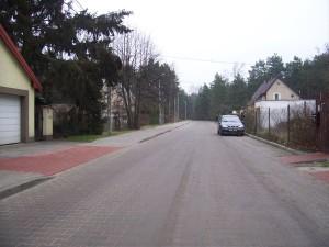 Droga w Radiówku po modernizacji, źródło: UG Wiązowna