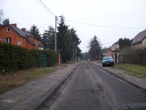 Droga w Radiówku przed modernizacją, , źródło: UG Wiązowna