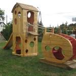 Plac zabaw przy GOK