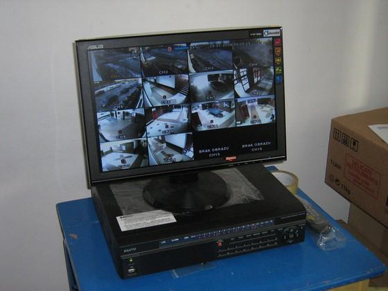 Monitoring w ZSG w Wiązownie