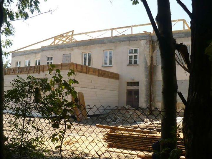 Rozbudowa szkoły w Malcanowie, 10.2014, foto: malcanow.eu