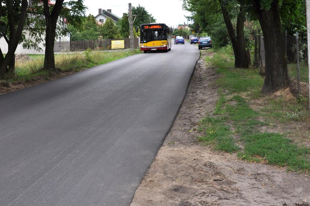 Droga powiatowa 2709 W w Malcanowie