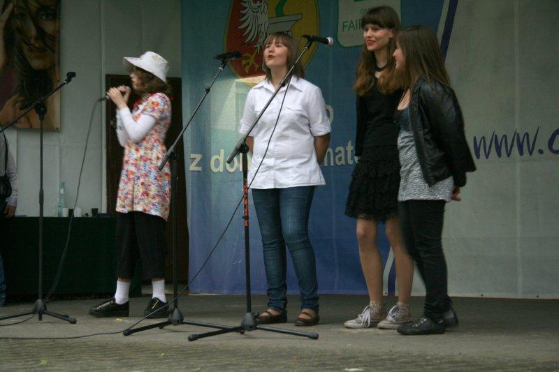 Młodzi wokaliści z Wiązowny