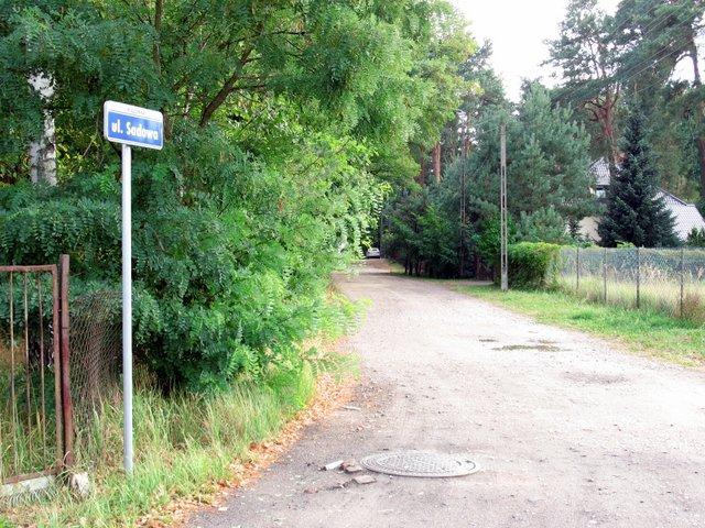 ul. Sadowa w Wiązownie, 04.09.2015, foto: RS