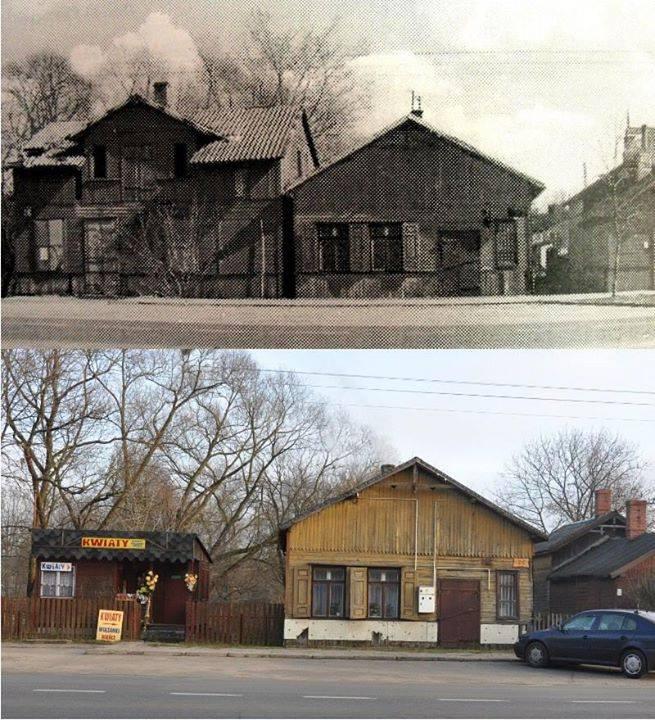 5.ul. Lubelska, foto arch.: od mieszkańców Wiązowny, foto współczesne: BF