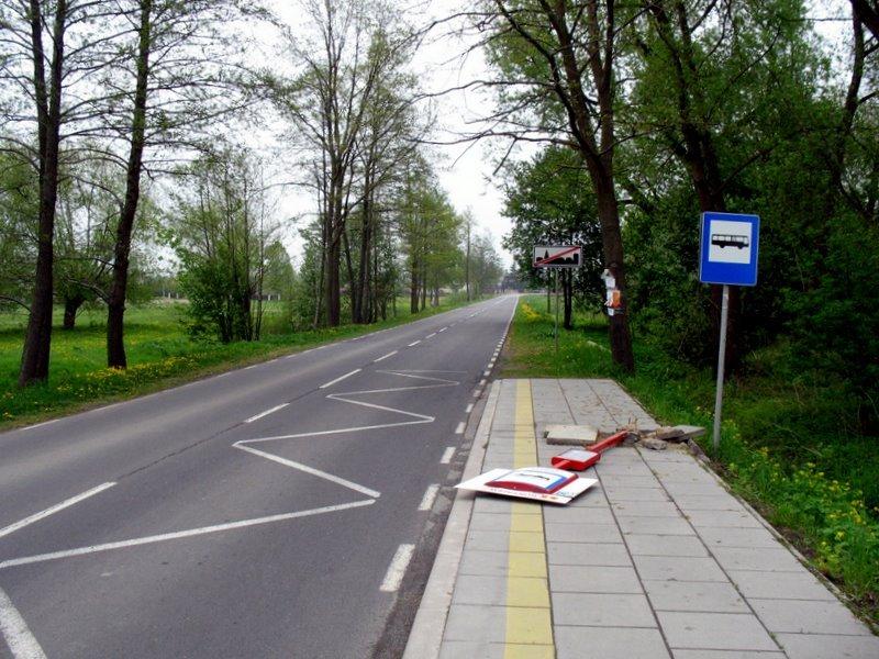 Przystanek ZTM w Boryszewie