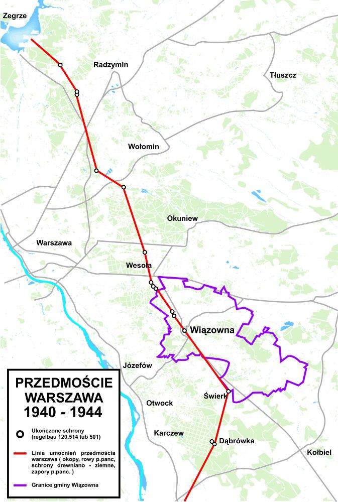 Przedmoście Warszawa 1940-1944