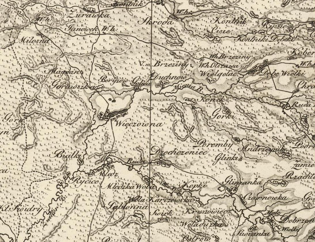 Wiązowna, 1808