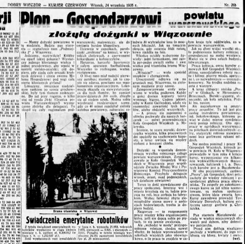 Dobry_Wieczór_R.14, nr 265 (24 września 1935)_dozynki