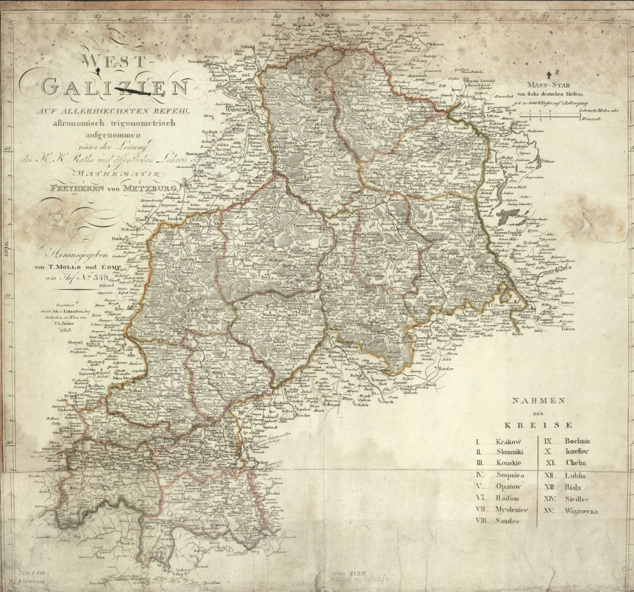 West Galizien 1803