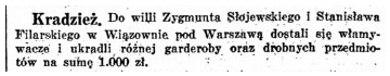 Kurier Warszawski, nr 345, 16 grudnia 1935 roku