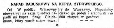 Nasz Przegląd nr 357, 17 grudnia 1937 roku