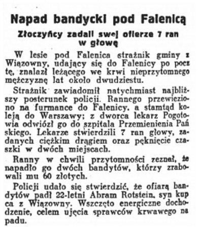 Polska Zbrojna nr 202, 22 lipca 1928 roku