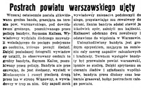 Polska Zbrojna nr 30, 2 listopada 1936 roku