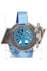 Medal XXXVI Półmaratonu Wiązowskiego
