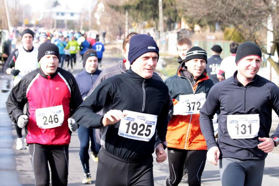 XXX Półmaraton Wiązowski, 28.02.2010, foto: WilK