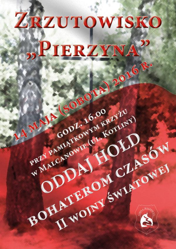 Zrzutowisko Pierzyna - zaproszenie