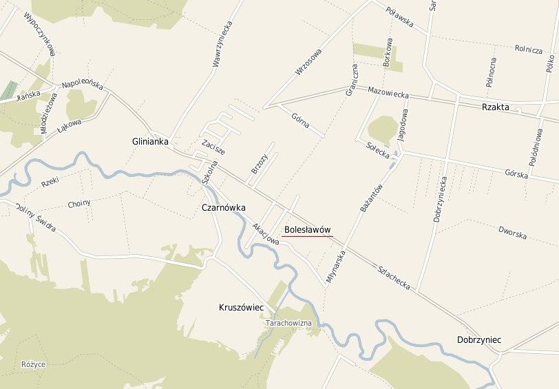 żródło: wiazowna.e-mapa.net