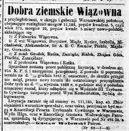 Gazeta Polska, nr 17, 23 stycznia 1862