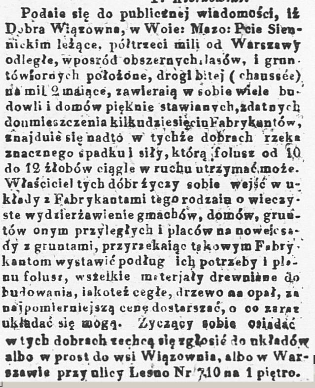 Kurjer Warszawski. R.3, t.1, nr 122 (24 maja 1823)