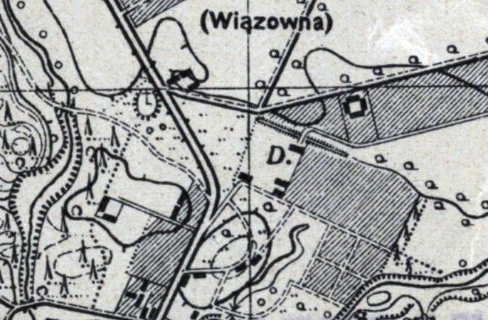 WIG - Mapa Szczegółowa Polski, zdjęcie topograficzne z 1889-1990, ze zbiorów Instytutu Geografii Uniwersytetu Pedagogicznego w Krakowie