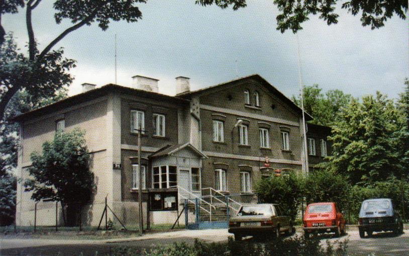 Budynek UG przed przebudową (dawny trzykondygnacyjny dom folwarczny dla rządcy i pracowników Szymona Neumana; ze zbiorów UG