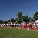 Otwarcie boiska w Gliniance