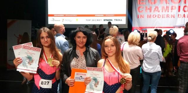 Od lewej: Wiktoria Galińska, Anna Chwalczyk i Natalia Ciąćka